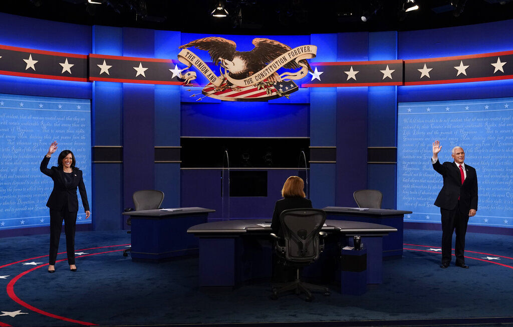 A Year Ago Today, In Pictures: Vice Presidential Debate And More Moments You May Remember