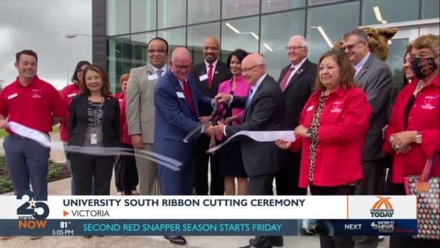 Uhv Officially Reveals New Science Building, Announces Names For Other Campus Colleges