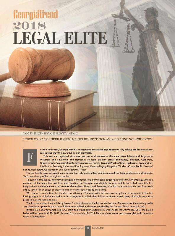 legal elite 2018