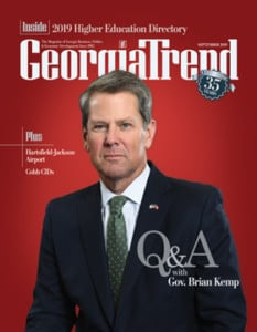 Georgia Govenor Brian Kemp
