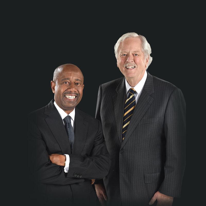2020 Georgia Trustees: Robert Jepson, left, and Robert Brown