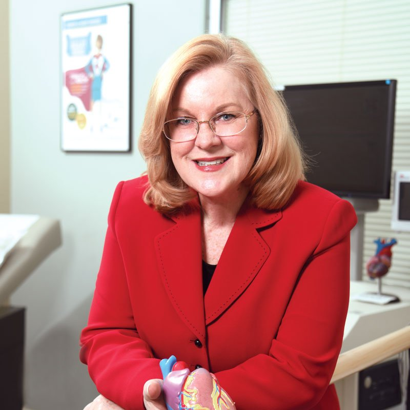 Evidence-based Treatment: Dr. Gina Price Lundberg, clinical director of the Emory Women's Heart Center