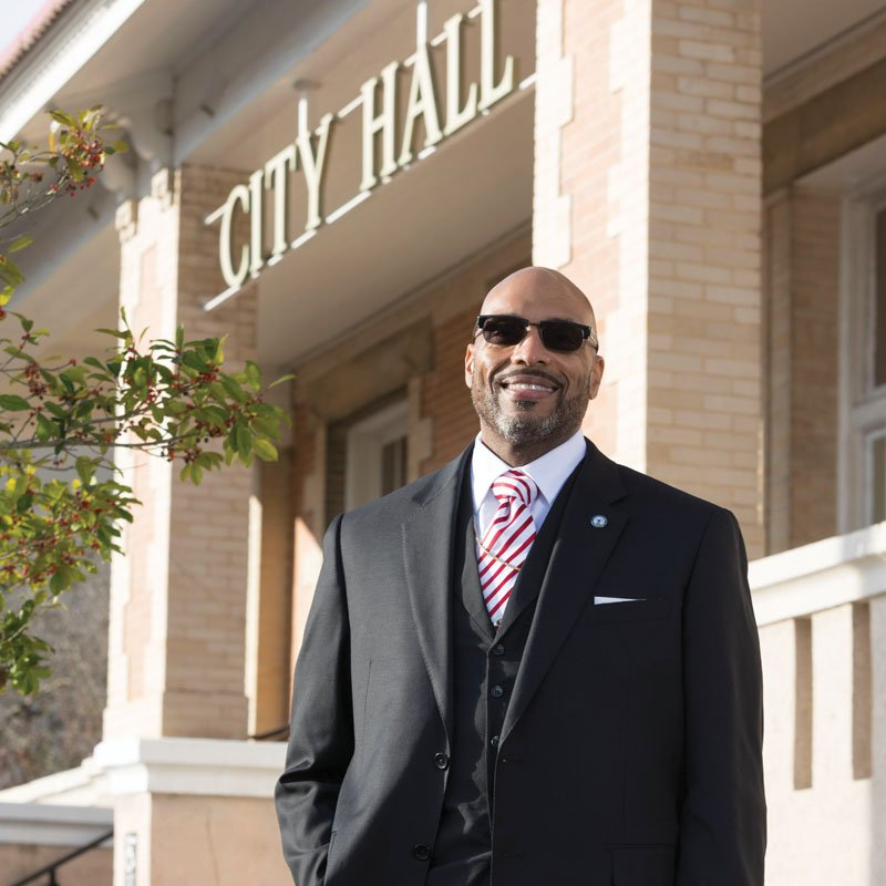 Mayor Michael-Angelo James