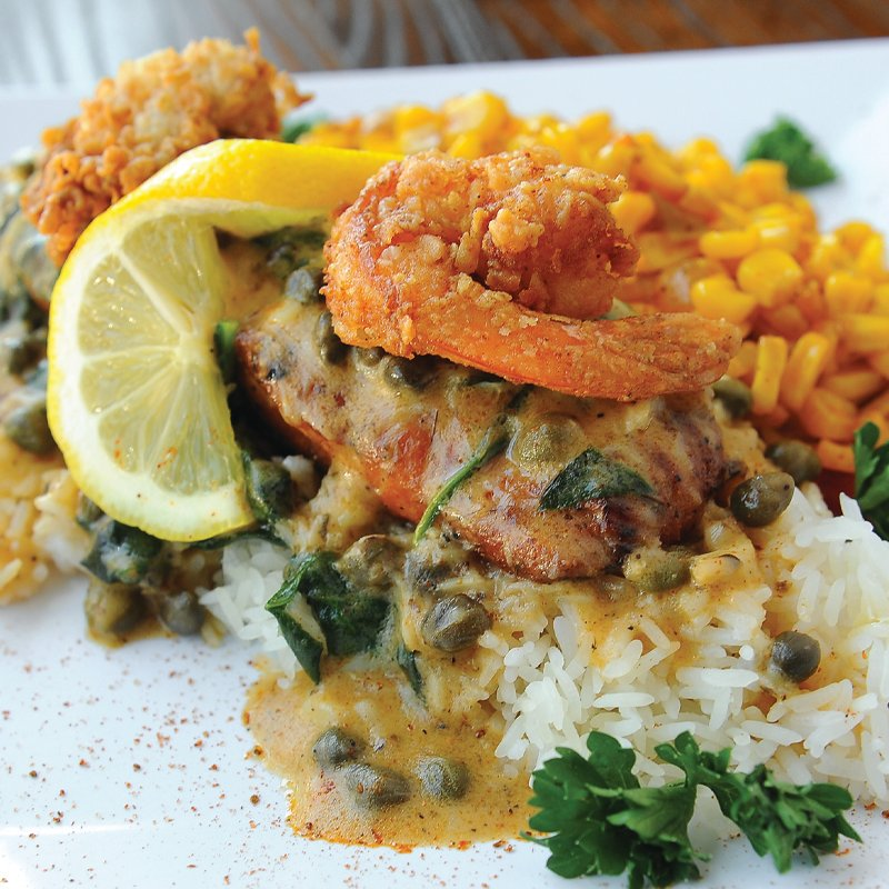 108 College Park Educator: Virgil's Gullah Kitchen and Bar serves seafood-based dishes with a deft hand and a good eye.