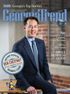 Georgia Trend May 2020 Ben Chestnut Most Respected Business Leader