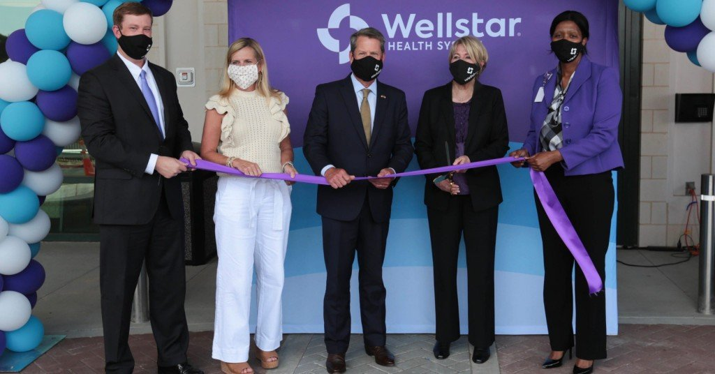 Wellstar Kennestone Hospital Ribbon Cutting 7.16
