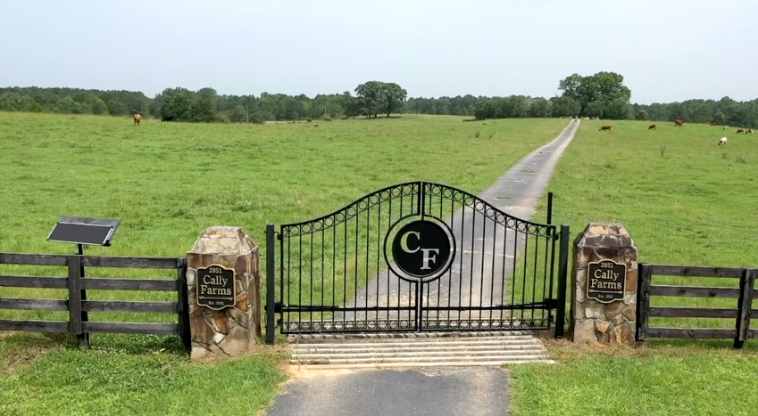 Cally Farms Gate