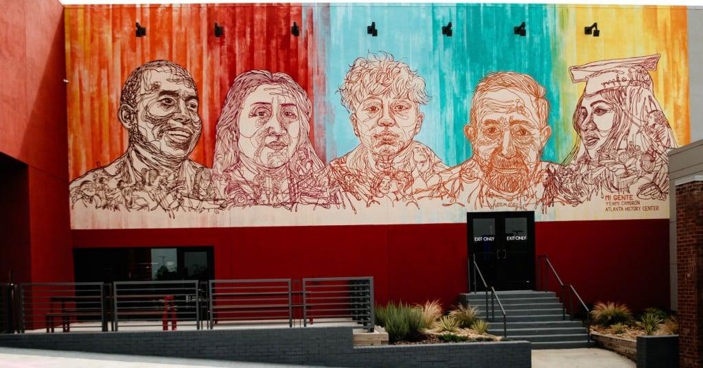 Mi Gente Mural Drive By