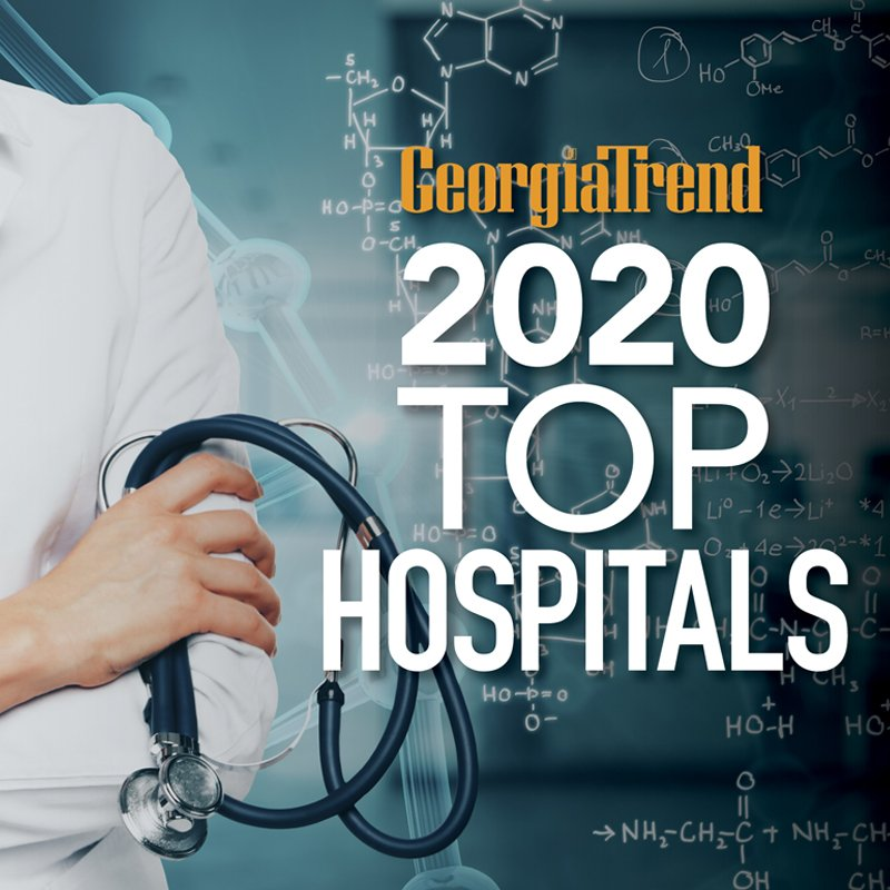 Georgia Trend December 2020 Top Hospitals pg 33