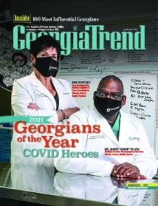 Georgia Trend January 2021 Cover Kim Whitley James Black