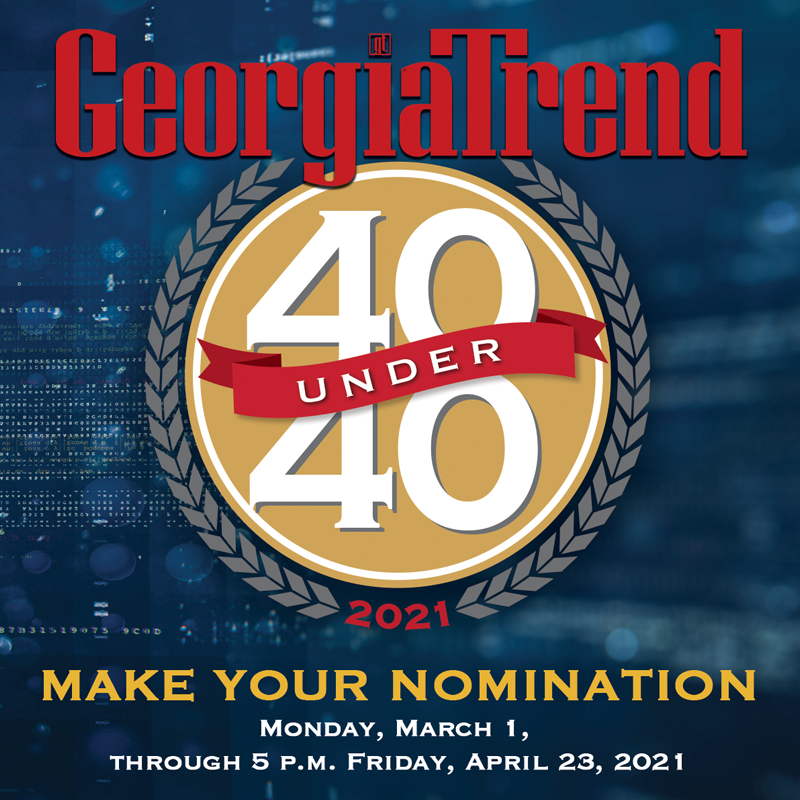 Georgia Trend 2021 40 Under 40 Nomination Form