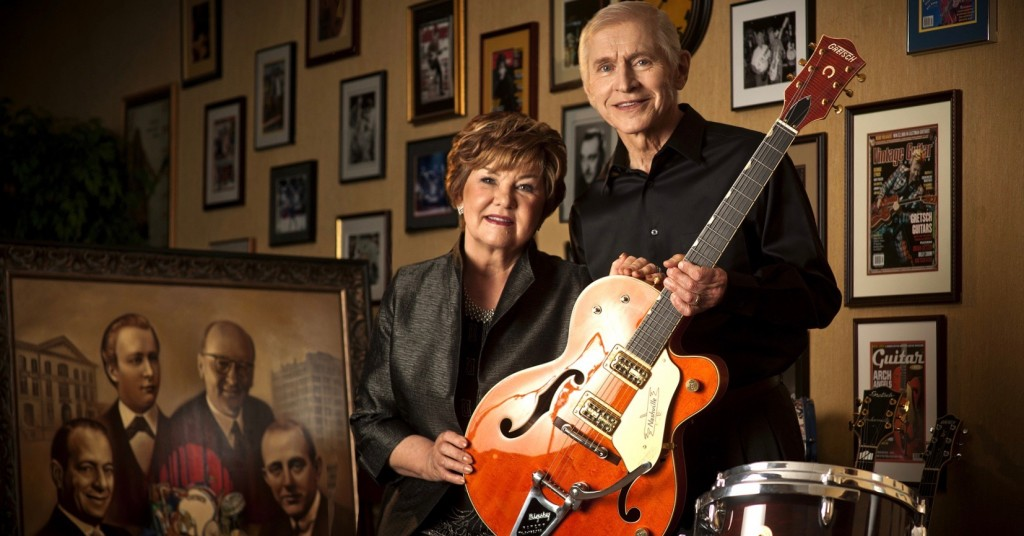 Gretsch Guitars Owners Fred And Dinah Gretsch