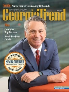 Georgia Trend May 2021 Most Respected Business Leader Kevin Greiner