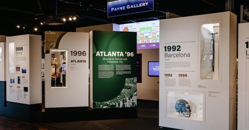 Atlanta '96: Shaping An Olympic And Paralympic City