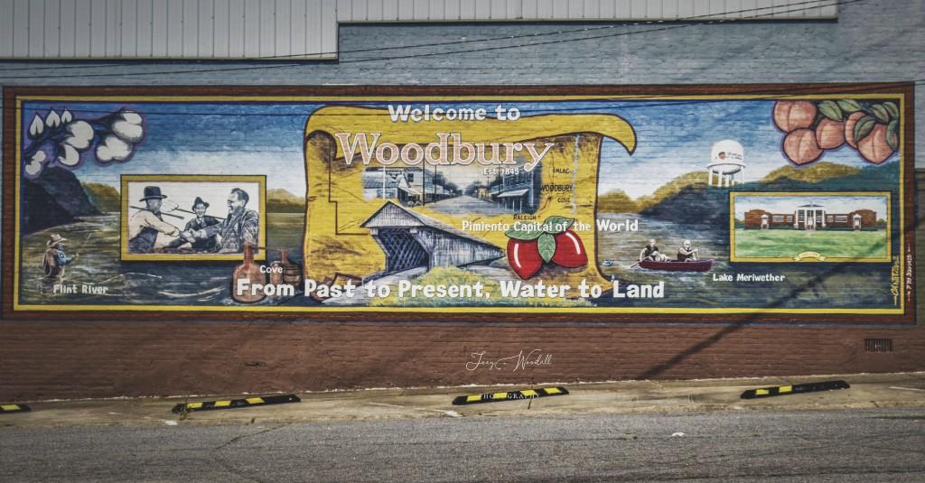 Woodbury Mural Joey Woodall Photograhy