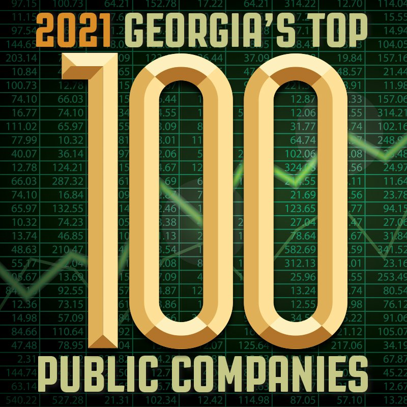 Georgia Trend October 2021 Top 100 Public Companies p039