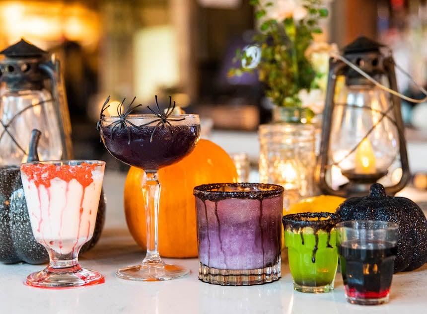 Hampton Hudson Halloween Cocktails Courtesy Of Atlys Media