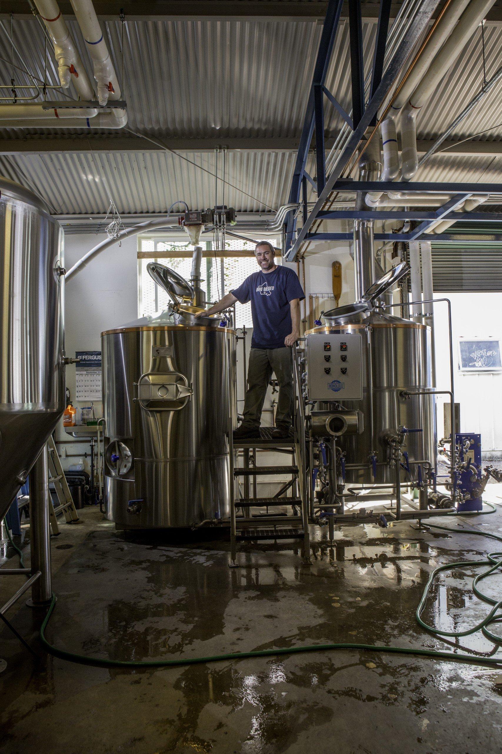 Geoff Seideman had been assistant brewmaster at Aloha Beer before launching Honolulu Beerworks. Photo: David Croxford