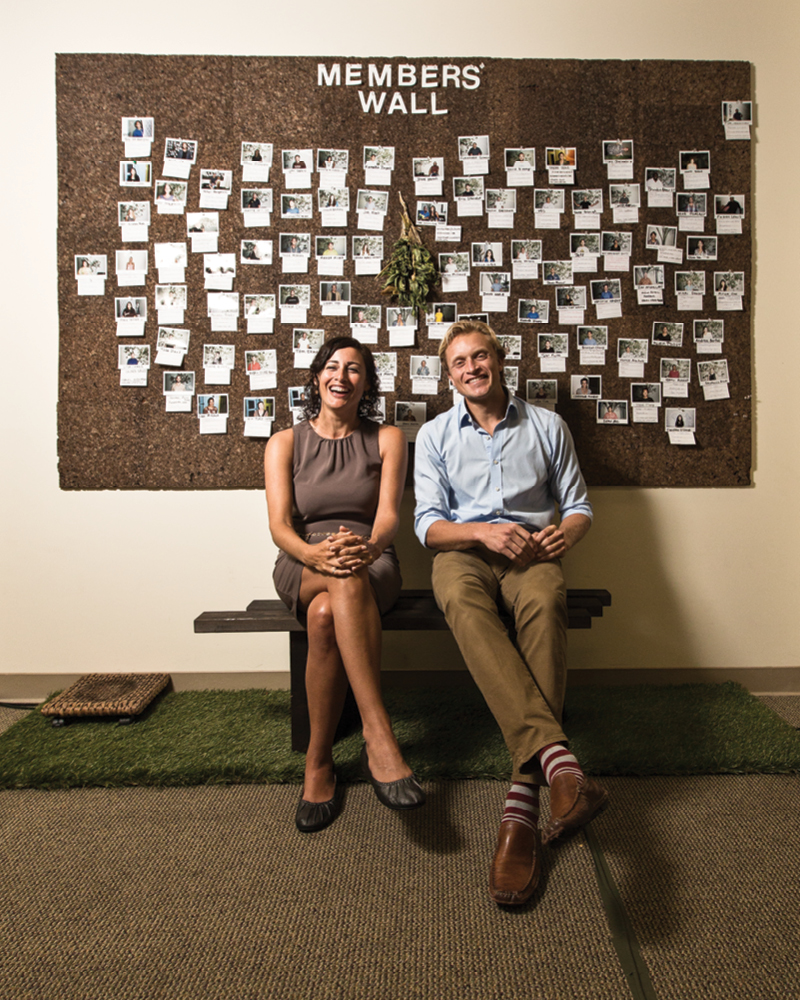 Shanah Trevenna and George Yarbrough are, respectively, president and community coordinator/director of operations for ProtoHub Honolulu, a startup accelerator for social entrepreneurs. Photo: David Croxford