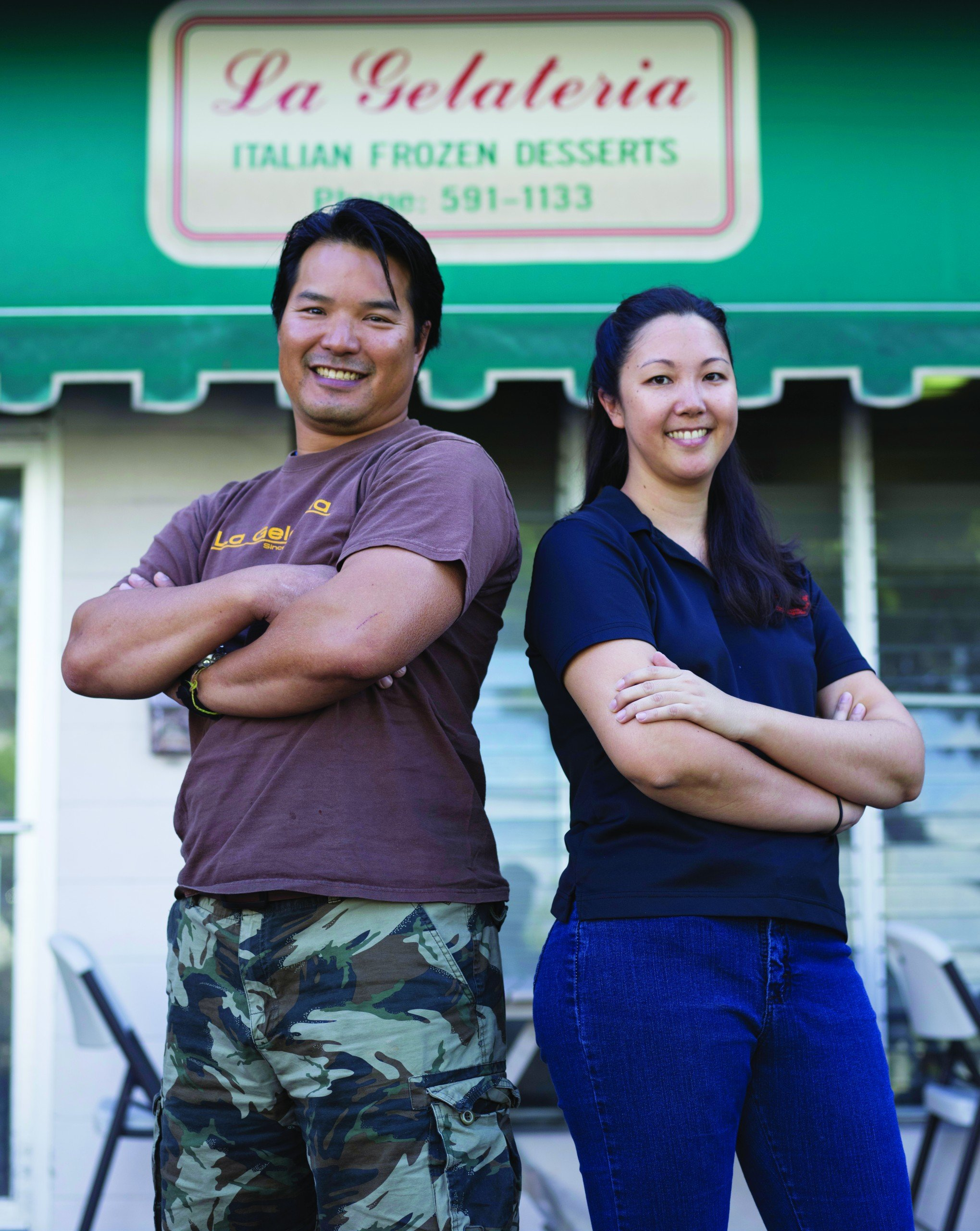 Co-owner Kenwei Chong and GM Tori Kinney are constantly adding new flavors. Photo: David Croxford