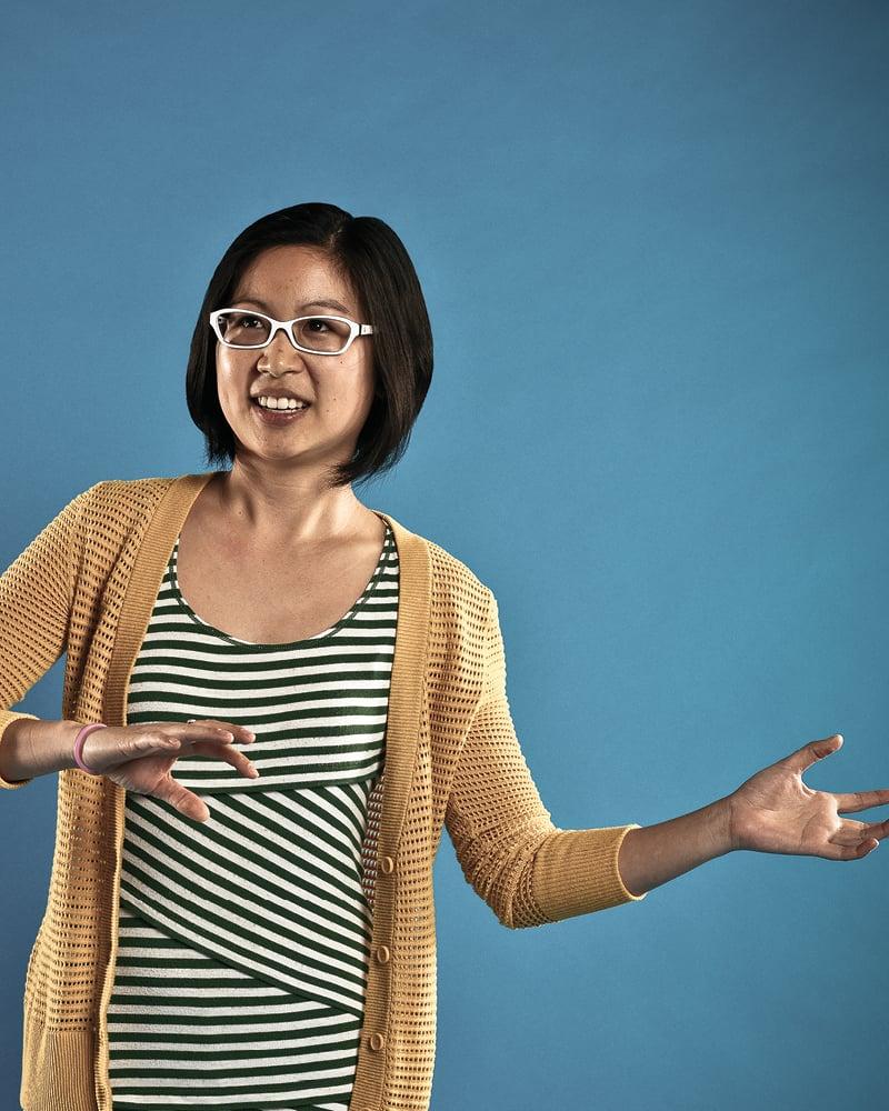 Vanessa John, 28, preschool educator. Photo: Aaron Yoshino