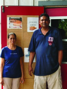 Sheila and Rajeev Singh of Fiji Market and Curry Kitchen. Photo: Jackie M. Young