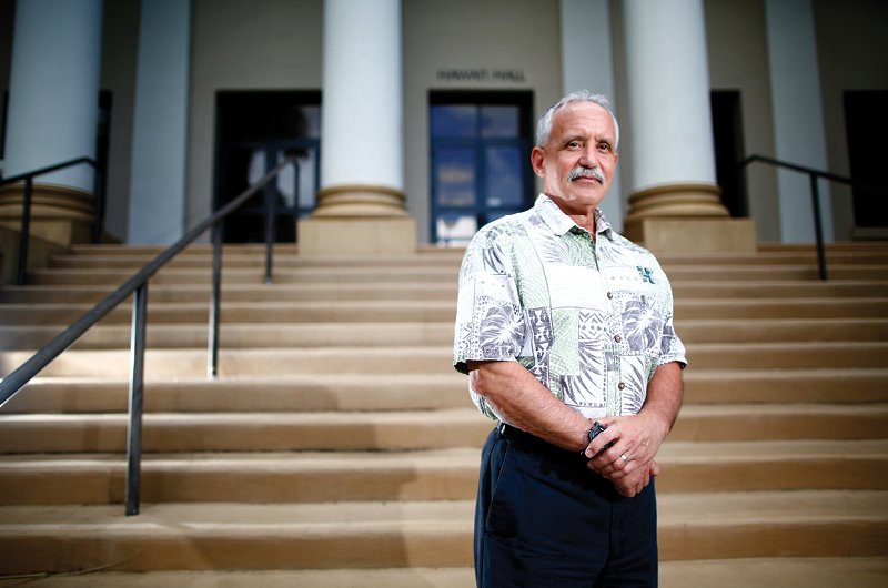 Tom Apple was fired as UH-Manoa's chancellor in July as the budget crisis deepened. He says the university has been forced to change its budget process because of years of reduced financial support from the state Legislature. Photo: Courtesy of Ka Leo o Hawaii