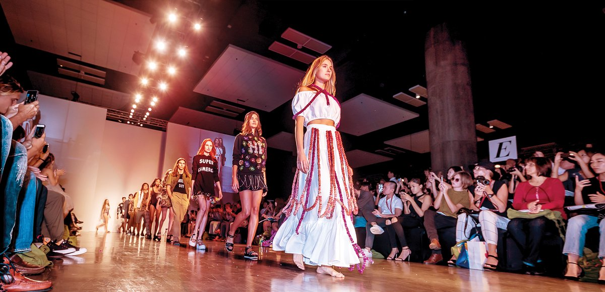 Honolulu Fashion Week, held annually in November, is the largest fashion event in Hawaii with an estimated 10,000 attendees. The ultimate goal is to grow the local fashion industry into an international force. Photo: Ross Hamamura / Honolulu Magazine