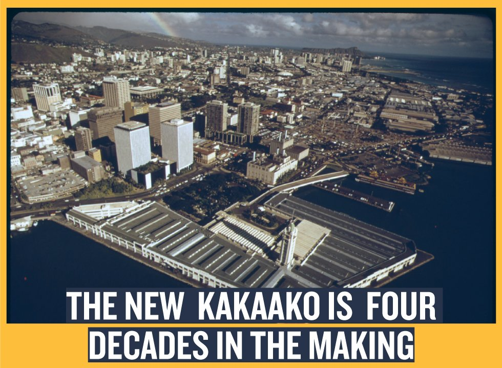 The New Kakaako is Four Decades in the Making (PHOTO: CHARLES O'REAR/U.S. NATIONAL ARCHIVES AND RECORDS ADMINISTRATION)