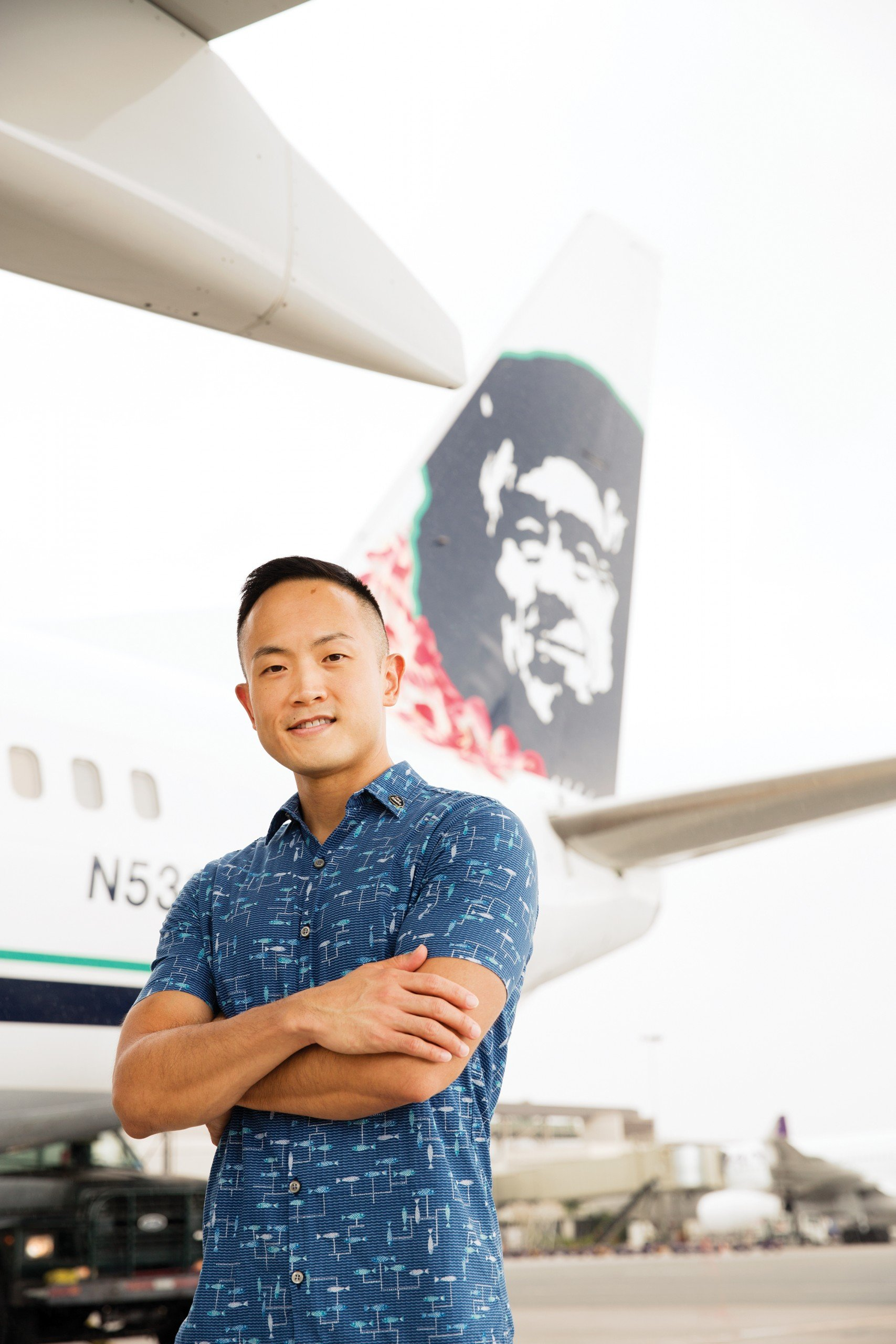 Daniel Chun, regional manager of sales and community marketing for Alaska Airlines, and an openly gay business leader in Hawaii, feels his sexual orientation has never been a source of discrimination against him in the business community. Photo: Olivier Koning
