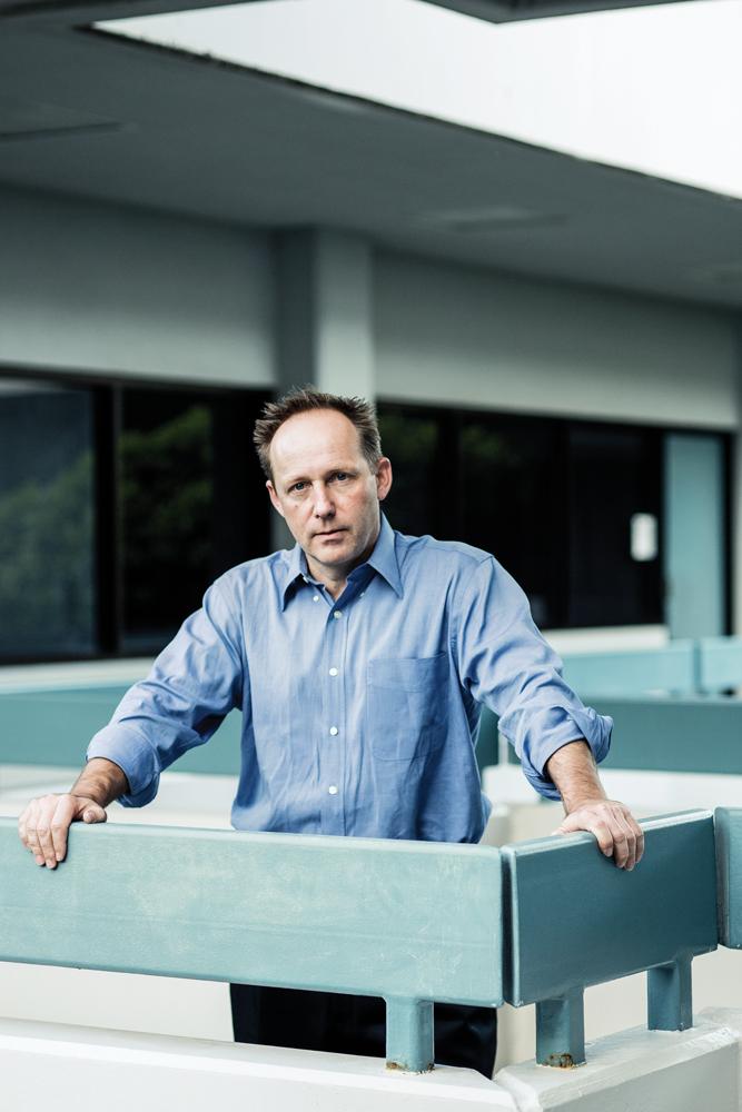"""John """"JR"""" Robinson Co-founder, Nest Egg Guru. Photo: Olivier Koning"""