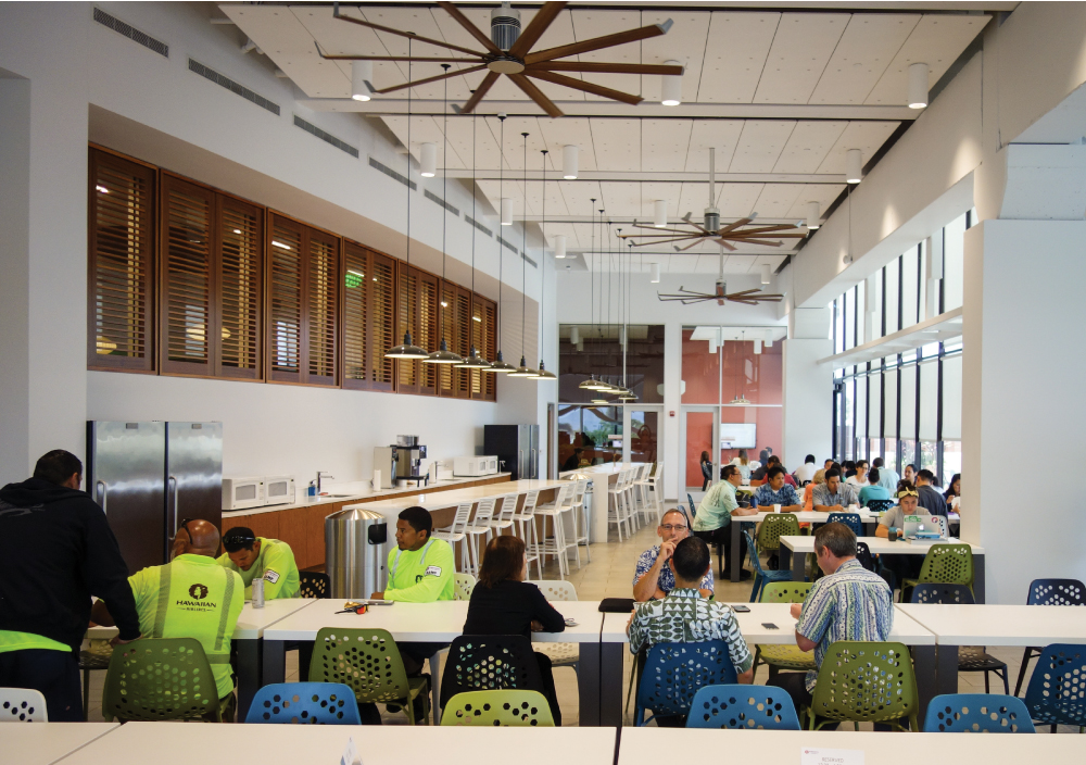 Hawaiian Airlines' Lunchbox cafeteria at Honolulu International Airport. Photo: David Croxford.