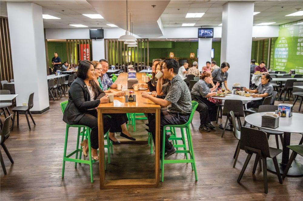Mokihana, the Sheraton Waikiki's employee cafeteria. Photo: David Croxford.