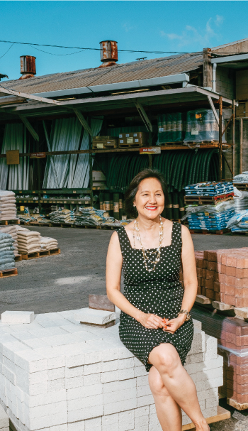 Carol Ai May of City Mill says that only after she proved herself by helping run another business successfully was she able to talk with her father as a business equal. Photo: David Croxford and Aaron K. Yoshino