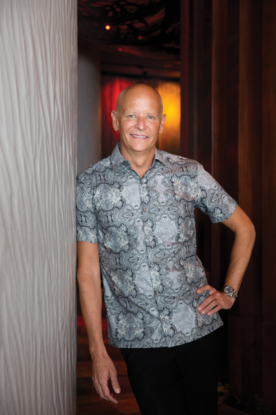 """Kelly Sanders, GM of the Sheraton Waikiki Hotel, says Hawaii's welcoming """"aloha spirit"""" helps create acceptance for a diverse community. Photo: Olivier Koning"""