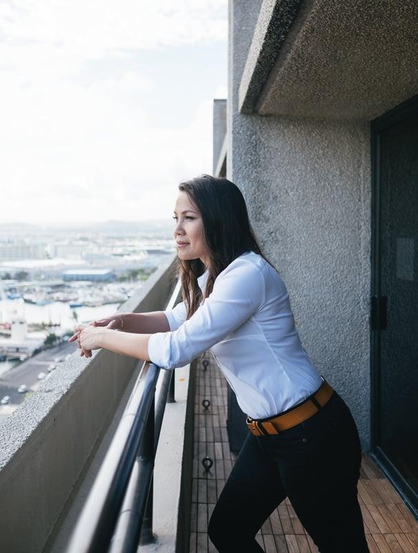 Meli James. Photo: Aaron Yoshino