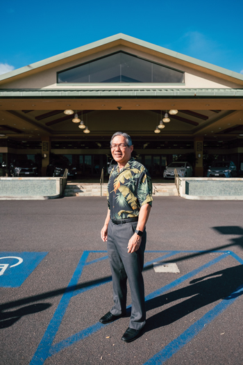 Rick Ching started at Servco in 1985 and is now COO and head of the Hawaii auto division. Photo: Aaron Yoshino