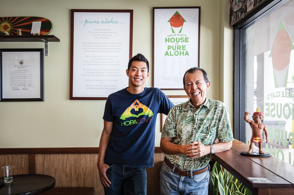 """Clayton Chang teamed with his nephew, Bronson Chang, to reinvent his store as Uncle Clay's House of Pure Aloha – """"an evolved crack-seed store."""" Photo: Olivier Koning"""