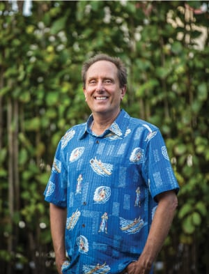 """""""There's interest because people see that there's promise. It's not going to happen overnight, but we know we can make this place come alive again because it's been done before,"""" says Lee Steinmetz, Transportation planner for Kauai County. Photo by Brian Finch."""