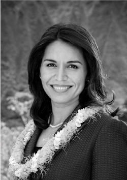 """""""On both sides, there's interest and an appetite for working together on infrastructure."""" -Rep. Tulsi Gabbard"""