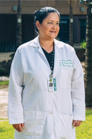 """It's important to provide that residency rotation, otherwise you'll never get anyone to the neighbor islands."" -Lee Buenconsejo-Lum, Head of Residency Program at JABSOM."