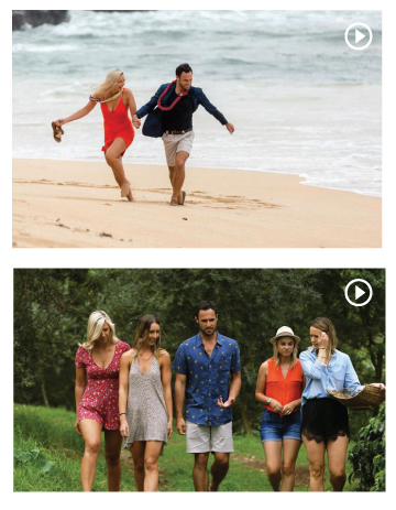 """Here are scenes fro the New Zealand version of """"The Bachelor"""" TV show, filmed in Hawaii. The top picture is from Kauai and the other from Maui. """"Making sure that your product is featured in a movie or television program has always been a big part of marketing,"""" says Leslie Dance, HTA's VP of marketing and product development. Photography by Hawaii Tourism Authority / Aaron K. Yoshino."""