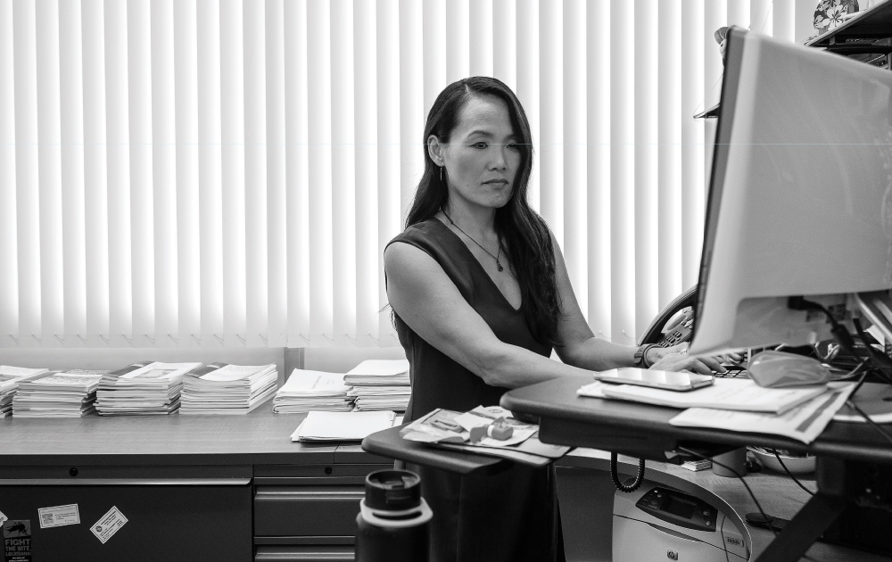 Dr. Sarah Park is the state epidemiologist and head of the team at the Disease Outbreak Control Division that found the source of this summer's Hepatitis A outbreak. Photo by Aaron K. Yoshino