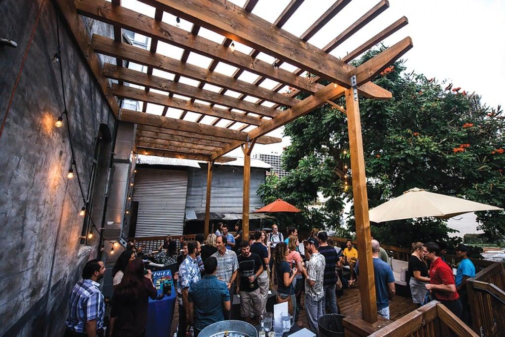 Encore Saloon's patio