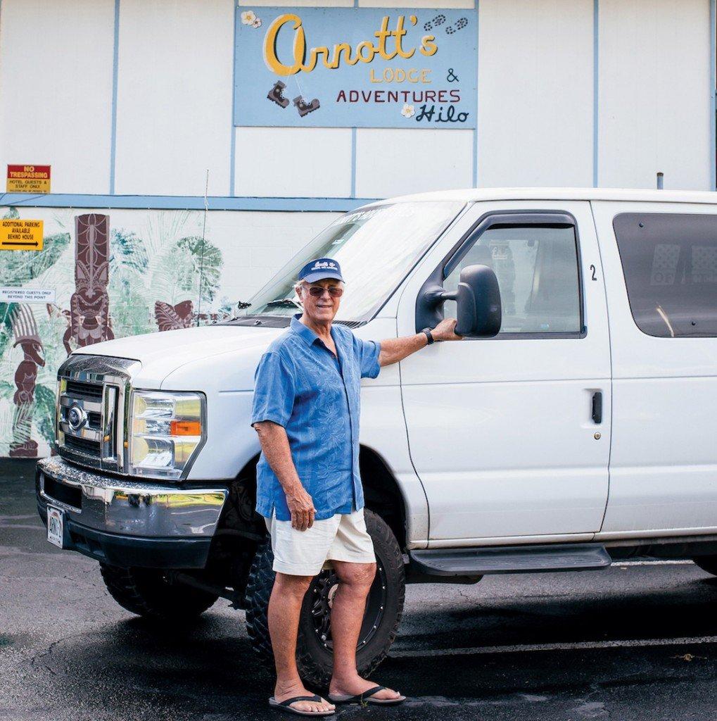 Doug Arnott, Arnott's Lodge and Hiking Adventures, Photo: Dino Morrow