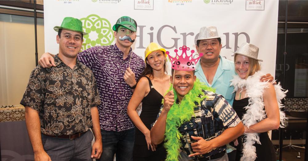 The Hawaii Group's Casino Night.