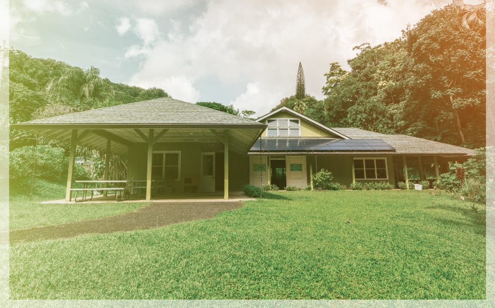 The Hawaii Nature Center in Makiki is now named for the Weinbergs. Photo by Aaron K. Yoshino.