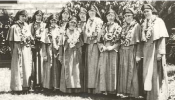 The Maryknoll Sisters opened Maryknoll School in 1927.