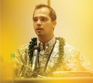 Kawika Riley, chief advocate for the Office of Hawaiian Affairs. Photo by Aaron K. Yoshino.