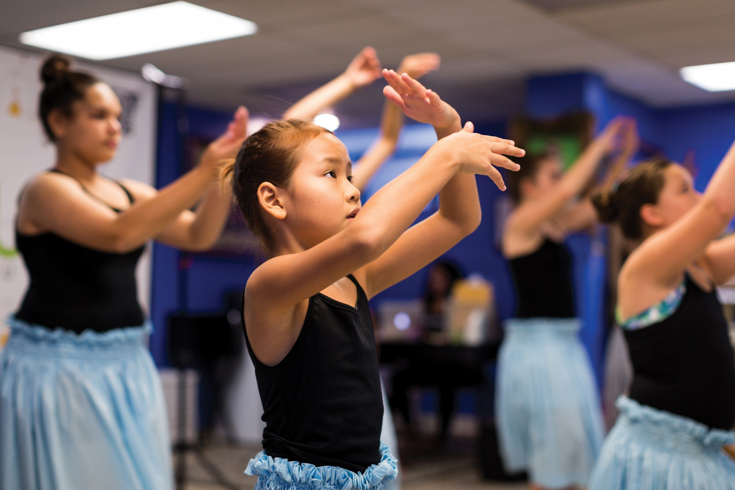 In Hawaii, hula competes for young students with many other activities that interest children. That makes it hard for a kumu to build up the roster at a halau.